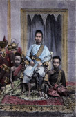 Costumes of Cambodia - The Queen Mother (Cambodia)