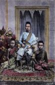 Kost�me von Kambodscha - Die Queen Mother (Kambodscha)