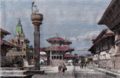 Temples in Patan (Nepal)