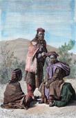 Kleidung Tibetische Frau aus Ladakh (Tibet)