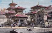 Temples in Kathmandu (Nepal)