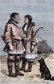 Costume - Chukchi people - Siberia (Russia)