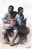 Nanai Man and Woman - Nani - Tungusic people - Ethnic group (Russia)