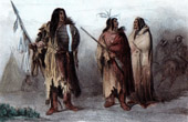 American Indians - Assiniboines - Nakoda - Nakona (Canada)