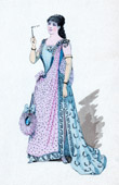 Theater Clothing - French Stage Costume - La fille de Madame Angot - Operetta (Charles Lecocq) - Mademoiselle Lange