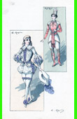 Theater Clothing - French Stage Costume - Le Club des Pann�s - Le Mazarin - Le Grand Mogol