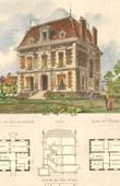 Drawing of Architect - House - Villa in Nogent-l'Artaud (Mr Loison Architecte)