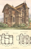 Drawing of Architect - House in Croissy (Mr Leboeuf Architecte)