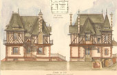 Drawing of Architect - House - Villa in Coupvray (Mr Chanut Architecte)