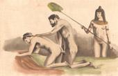 Stich von Erotische Szene - Curiosa - Homosexualität - Altes Ägypten