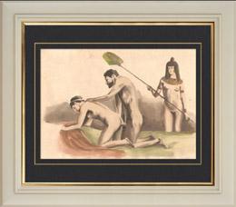 Erotische Szene - Curiosa - Homosexualit�t - Altes �gypten