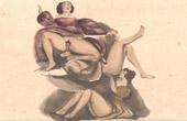 Erotic Scene - Curiosa - Cunnilingus