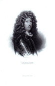 Portrait of Louis XIV (1638-1715)