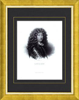 Porträt von Ludwig XIV (1638-1715)