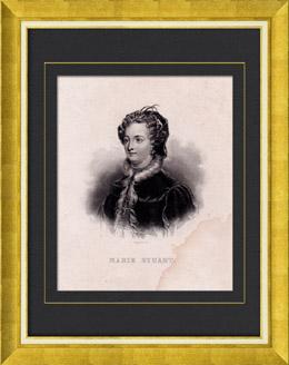 Porträt von Maria Stuart (1542-1596)