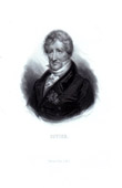 Portrait of Georges Cuvier (1769-1832) - Comparative anatomy - Paleontology