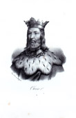 Portrait of Clovis I (466-511) - King of the Franks
