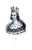 Portrait of Louis IX (1215-1270)