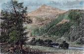 Ansicht von Snowdon - Wales (Vereinigtes Königreich)