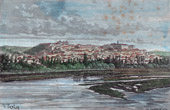 View of Coimbra (Portugal)