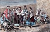 Traditionelle Kleidung von Walachei (Rum�nien)