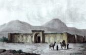 Caravanserai Guilek in Tabriz - Persia (Iran)