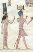 Ancient Egypt - Hieroglyphs - Cleopatra and Ptolemy
