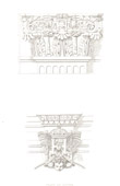 Architect's Drawing - Louvre Palace (Paris) - Capital