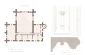 Architect's Drawing - Cathédrale Notre Dame de Paris - Sacristy (Paris) - First floor