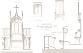 Architect's Drawing - Cath�drale Notre Dame de Paris - Sacristy (Paris) - Chapter house