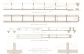 Architect's Drawing - Courthouse (Paris) - Ceilings - Beam