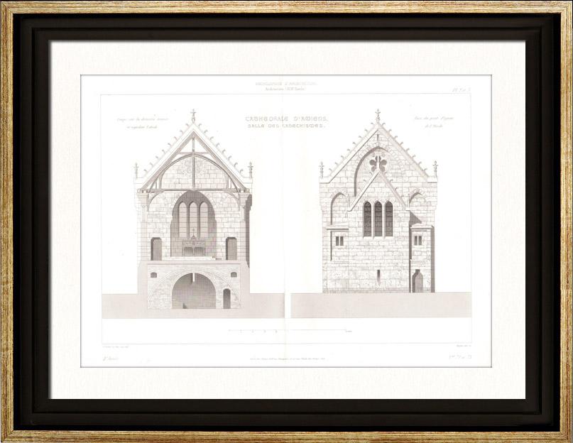 Gravures anciennes gravures de amiens - Architecte d interieur amiens ...