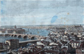 View of Toulouse in 1874 - Midi-Pyrénées (Haute-Garonne - France) - Capitole - Dungeon