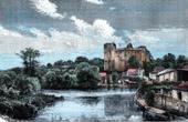 Clisson Castle (Loire-Atlantique - France) - Brittany - Middle Ages