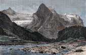 Wellhorn and Rosenlaui - Bernese Alps - Glacier (Switzerland)