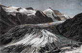 View of Grossglockner - Mountain - Pasterze Glacier (Austria)