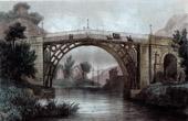 Coalbrookdale's Bridge - Iron Bridge - Shropshire (England)