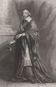 Portrait of Richelieu (1585-1642) - Cardinal Richelieu (Philippe de Champaigne)