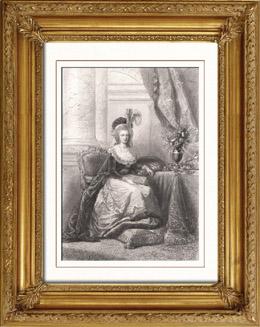 Portr�t von Marie Antoinette (1755-1793)