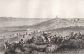 (Algeria) - Assault of Algieria (1830) - French conquest of Algeria - Sidi Ferruch (Raffet)