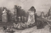 Return of the ashes of Napoleon I from the island of St Helena to France (1840)