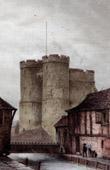 View of Canterbury - Canterbury Gate (England)