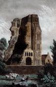 View of Canterbury - Monastery (England)
