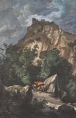 View of Canossa - Castle of Canossa - Emilia (Italy)
