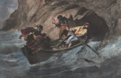 View of Capri - Grotta Azzurra (Italy)