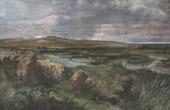 View of Cannae - Canne della Bataglia - Battlefield - Apulia (Italy)