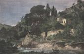 View of Palermo - Conca d'Oro - Sicily (Italy)