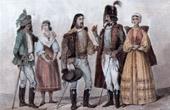 Ungarische Typische Kleidung - Uniform - Ungarn