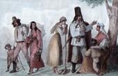 Ungarische Typische Kleidung - Bauer - Ungarn