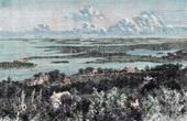 Ansicht von Bermuda (Nordamerika)